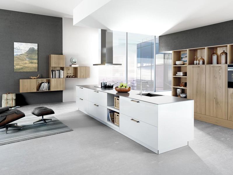 Bei der modellreihe classicart handelt es sich um grifflose küchen küchen der systemat linie basieren auf einem grundraster das für die bestimmung der